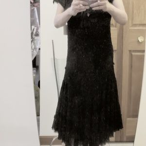 Jean Paul Gaultier Black Eyelet Dress...S/M